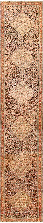 Antique Persian Senneh Runner 48089 Main Image - By Nazmiyal