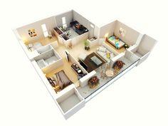 casa-con-piso-de-color-crema