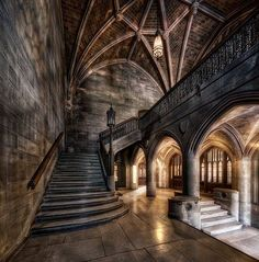 Abandoned Castles to Visit - This is kinda how I imagined the inside of Felixs castle when I wrote Xander and Blys escape. - Why abandoned castles are top choice in travelers Gothic Architecture, Beautiful Architecture, Beautiful Buildings, Architecture Design, Beautiful Places, Classical Architecture, Abandoned Castles, Abandoned Mansions, Abandoned Places