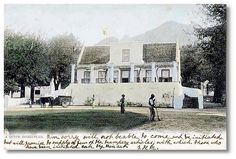 Old Cape Dutch homestead vintage postcard Cape Dutch, Inner World, Old Postcards, Vintage Photographs, Cape Town, Homesteading, South Africa, Old Things, Tours