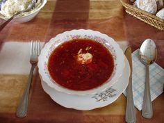 Russian Borscht Soup (Beetroot).