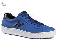 Basket Hogan H302 en veritable cuir bleau ciel - Code modèle: HXM3020W550ETV809A - Taille: 42.5 EU / 8.5 UK - Chaussures hogan (*Partner-Link)