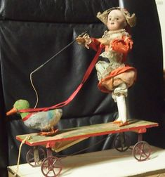 Antique French moving Doll SFBJ