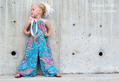 Free Printable Pillowcase Dress Pattern | Whimsy Couture Sewing Blog: Whimsy Couture Pillowcase Romper Pattern