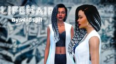 LifeHair and SilverHair   HIII! I created a 2 news hairs for you guys. All hair are compatible with hats and All hair have EA colors ...
