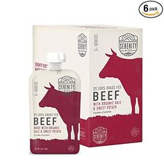 Grass Fed Beef with Organic Kale and Sweet Potatoes Serenity Kids Organic Meat & Vegetable Paleo Baby Food Sweet Potato Baby Food, Paleo Sweet Potato, Organic Meat, Organic Vegetables, Baby Food Recipes, Gourmet Recipes, Wholesome Baby Food, Newborn Quotes, Online Shopping