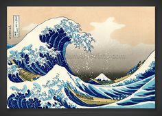 Katsushika Hokusai: The Great Wave of Kanagawa 1823