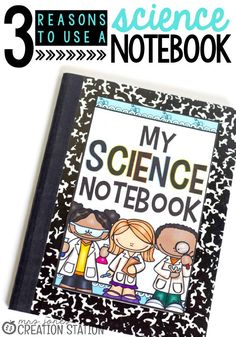 Help kids stay organized, focused and inspired about science with a science notebook. Still not convinced students need a science notebook? Read these three reasons your student needs a science notebook and tell me what you think! I have a feeling you'll start using a science notebook with your students ASAP! #sciencenotebooks #teachingkids #teachinghelps #teachingresources #teachingideas #teachscience #scienceforkids #kidslearning #MrsJonesCreationStation