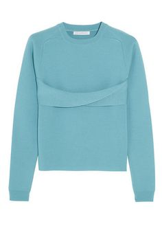 J.W. Anderson Twist-front merino wool sweater