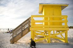 Siesta Key, FL- the Lifeguard Stand that Bryan proposed to me in front of:)