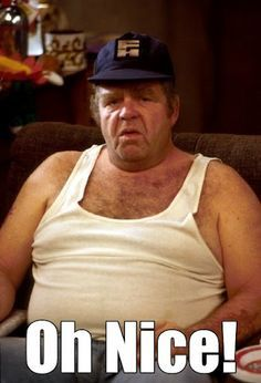 """Onslow on """"Keeping Up Appearances"""", played by the late great Geoffrey Hughes British Tv Comedies, Classic Comedies, British Comedy, British Actors, English Comedy, Keeping Up Appearances, Costa, Bbc Tv, Comedy Tv"""