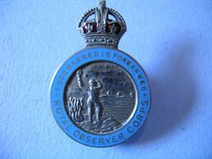 ROYAL OBSERVER CORPS - MUFTI BADGE | eBay