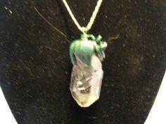 Large Clear Quartz Necklace