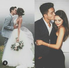 Elegant romance, cute couple, relationship goals, prom, kiss, love, tumblr, grunge, hipster, aesthetic, boyfriend, girlfriend, teen couple, young love, hug image / @riddhisinghal6