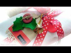 DN10 Cómo envolver regalos y hacer etiquetas - YouTube