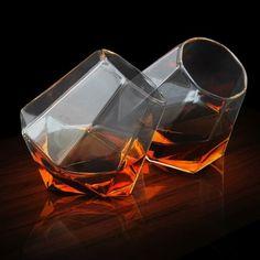 Coffret de Deux Verres Diamants : Achat Cadeau Design Apéritifs sur Rapid-Cadeau.com