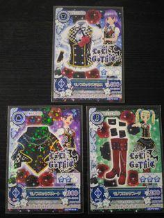 "Trading card of Japanese Idol Animation ""AIKATSU"" Mono block coord"