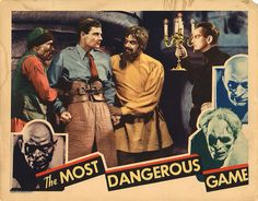 Lobby Card from the film The Most Dangerous Game