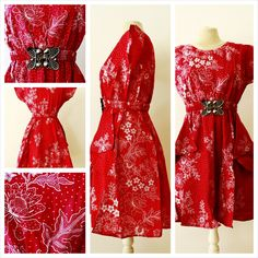 fashion, batik dress, authentique batik, woman clothing, clothing, vintage, dresses, summer dress, tribal dress, batik print dress, by AimeeBudaya on Etsy