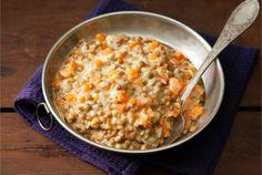 Linssilisäke. Nopeatekoinen Linssilisäke sopii tarjottavaksi liha-, kala- tai kasvisruokien kera tai kasvisruokana sellaisenaan.