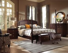 Alston King Poster Bed by Kincaid Furniture