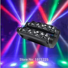 580.00$  Buy now - http://aliimu.worldwells.pw/go.php?t=32578980023 - 4pcs/lot Led Spider Light 8x10W Stage Disco Club Moving Head Light  new style Double spiders lamp stage dj effect lights