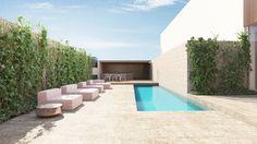 Apartment by destilat - MyHouseIdea Real Estate Development, Patio Design, Interior Design, Architecture, Outdoor Decor, Roof Terraces, Outdoor Kitchens, Pools, Modern Houses