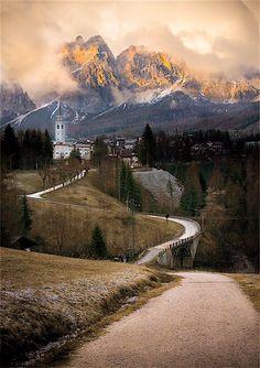 Cortina d'Ampezzo (Dolomites, Italy) by Aleksey Elkin