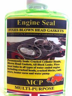 STEEL SEAL HEAD GASKET SEALER MCP,USED DIESEL & PETROL,32 OZ ,USED 6&8 CYLINDERS