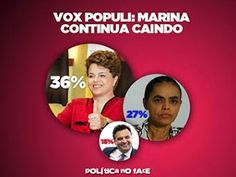 Panorama.COM: Vox Populi - Dilma pode levar no 1º turno? -   Nem a ajudinha da revista Veja foi suficiente para levantar o cambaleante tucano. Nas próximas horas deve crescer a pressão no PSDB, um ninho com sangrentas bicadas, para que o senador mineiro desista da sua candidatura e anuncie de imediato o apoio a ex-verde.