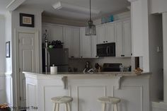 pin by becky stuart on for the home from How To Paint Kitchen Cabinets With Annie Sloan Chalk Paint
