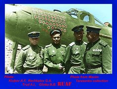 military aircrafts including mainly Bell P-39 Aircobra( later added P-400, P-63 Kingcobra). Russian pilots mainly engaged low-level flight with 37mm cannon resulted with great success & many 'Air Aces'.! ---- In spite of American classified as obslete Fighters!