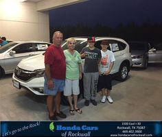 https://flic.kr/p/KjGSwW | #HappyBirthday to Carolyn and David from Scott Durkin at Honda Cars of Rockwall! | deliverymaxx.com/DealerReviews.aspx?DealerCode=VSDF