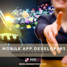 Appoint Mobile Application Developers from iMOBDEV Technologies to get a great combination of Expertise, imagination and approach!
