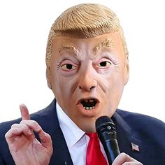 GOODNEW Donald Trump Celebrity Latex Halloween with FDA Registered for Party Halloween Costumes Clown Halloween Costumes, Halloween Face Makeup, Donald Trump, Latex, Celebrity, Party, Celebs, Parties, Celebrities