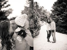 Wintery Christmas Family Pictures Littleton Colorado_0009