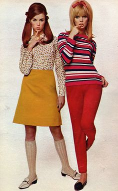 New 60's fashion.
