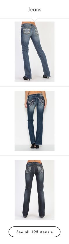 """""""Jeans"""" by barrel-aesthetic ❤ liked on Polyvore featuring jeans, tan capris, blue capris, blue jeans, capri jeans, cowgirl jeans, western jeans, cowboy jeans, dark jeans and navy jeans   Staggering design"""