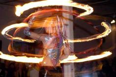 Spectacular hoop performances