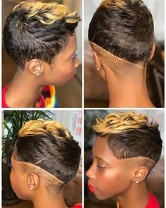 Tips for great looking women's hair. Your own hair is without a doubt what can certainly define you as an individual. To several individuals it is important to have a good hairstyle. Hairstyle In Girls. New style hair Short Sassy Hair, Short Hair Cuts, Short Perm, Pixie Cuts, Short Pixie, Short Relaxed Hairstyles, Cool Hairstyles, Hairstyle Pics, Hair Images