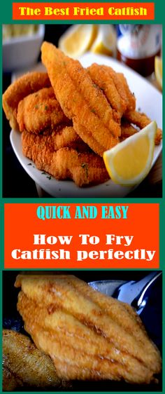How To Make Fried Catfish Recipe | superfashion.us Catfish Batter Recipe, Fried Catfish Recipes, Best Fried Fish Recipe, Seafood Recipes, Cooking Recipes, Fun Recipes, Salmon Recipes, Dinner Recipes, Athens