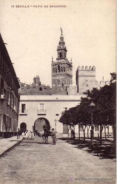 Patio de Banderas (Sevilla) 1925.
