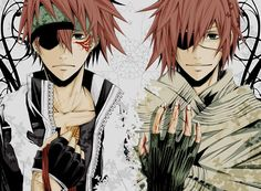 Lavi from D.Gray Man
