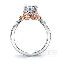 #Stylish #Saturday with #Capri #Jewelers #Arizona ~ www.caprijewelersaz.com ♥ Parade Designs - Engagement Rings - Style: R3457/R1-WR