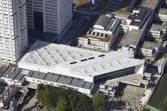 Educational Center Erasmus University Medical Center in Rotterdam by Claus en Kaan Architecten