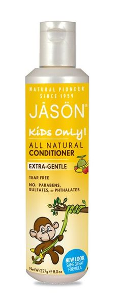 Jason Acondicionador Kids Only Extrasuave Cosmetica Natural