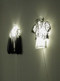 DIY Clothes lamps