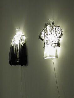 DIY Clothes lamps