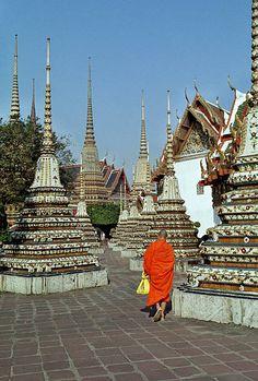 Wat Pho Temple. Bangkok, Thailand.