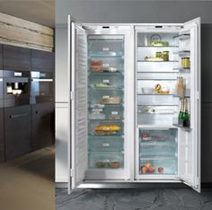 Flush appliances, no deeper than base cabinets, top the most-wanted list. This new fridge series offers separate columns, one for fresh and one for frozen, each only 30 inches wide and 24⅝ inches deep. Install side by side or apart, as fits your layout. Custom panel options include Truffle Brown—to, say, match your walnut cabinets. PerfectColumn, about $7,000 each; mieleusa.com